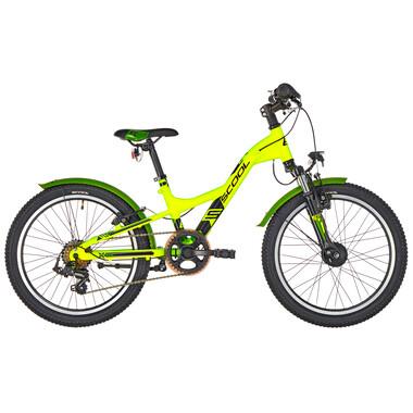 "Vélo de Ville S'COOL XXLITE Alu 7V 20"" Vert"